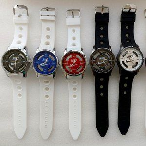 Nike Watch (Multi-Colors) Hollow Analog Sports Wristwatches + FREE ITEM!🆓🎁